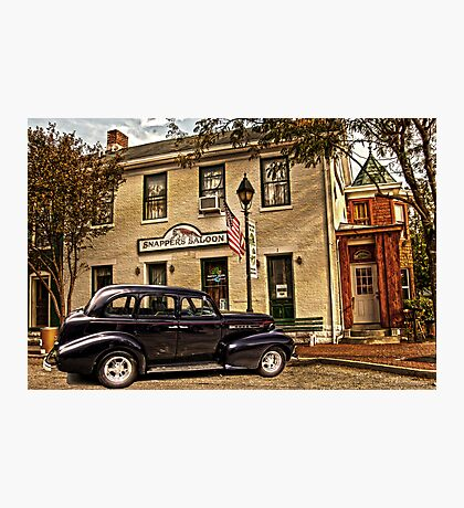 SNAPPERS SALOON RIPLEY OHIO Photographic Print