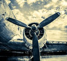 Douglas DC-3 Aircraft. Just Landed by luckypixel