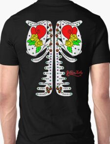 Sugar Skeleton (Back) Unisex T-Shirt