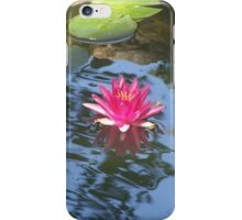 Water Lily & Lily Pads iPhone Case/Skin