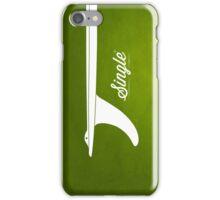 Single fin iPhone Case/Skin