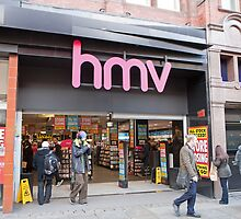 HMV  Shop  Manchester by Keith Larby