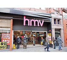 HMV  Shop  Manchester Photographic Print