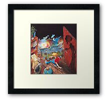 Book 1 - Shadows in the Attic Framed Print