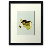 Sofi and the Fish Framed Print
