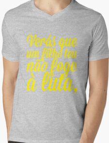 Luta - Amarelo Mens V-Neck T-Shirt