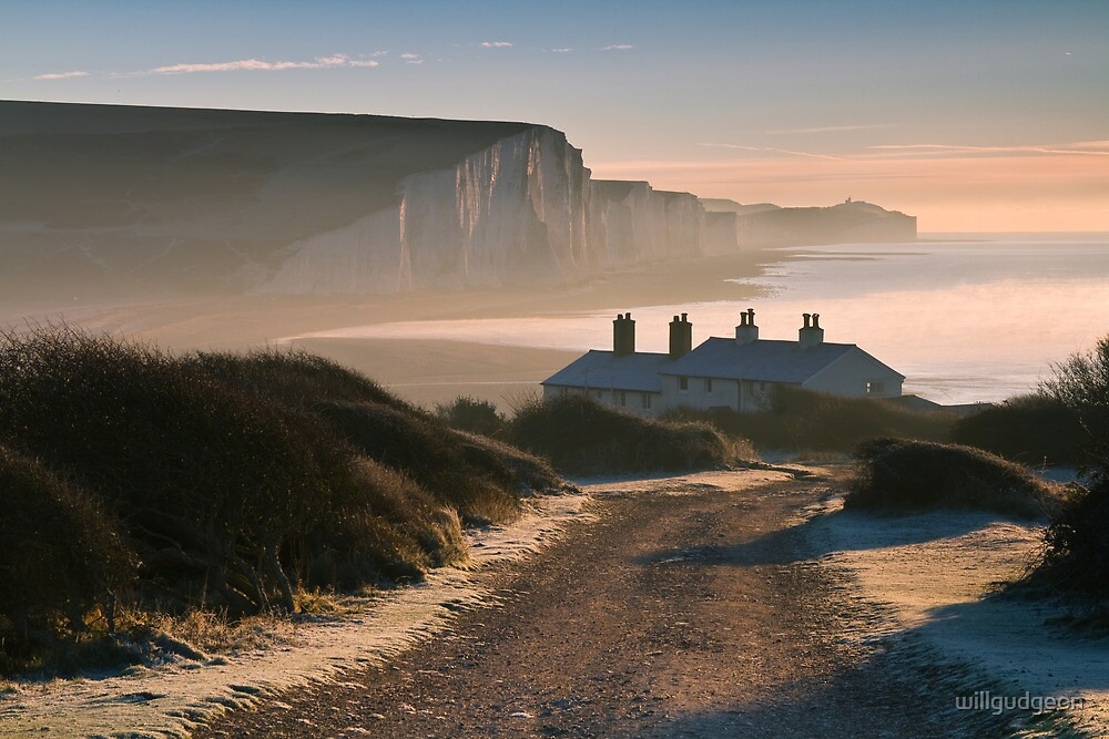 Sussex coast guard cottages by willgudgeon