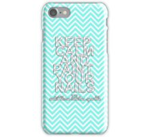 Keep Calm & Paint Your Nails iPhone Case/Skin