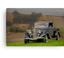 1935 REO Speed Wagon Canvas Print