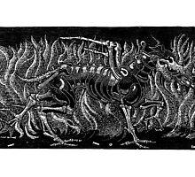 woodcut by Diegomrios