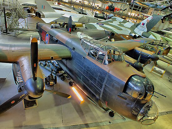 Airspace Duxford IWM - HDR by Colin J Williams Photography