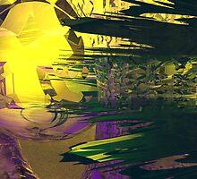 A Portal Disintegration at Sau Ceti by Sazzart