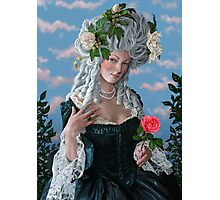 The Rose of Marie Antoinette Photographic Print