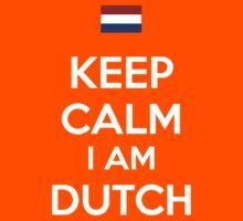 Keep Calm I'M Dutch Kids Clothes