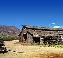 ApacheLand Barn by LoneTreeImages