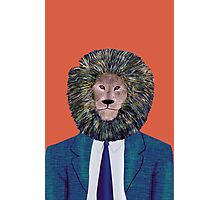 Mr. Lion's portrait Photographic Print