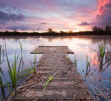 Jetty sunrise by willgudgeon