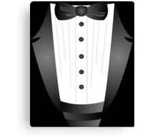 Groom wedding party bachelor party novelty Tuxedo  Canvas Print