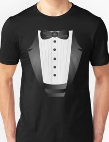 Groom wedding party bachelor party novelty Tuxedo  T-Shirt