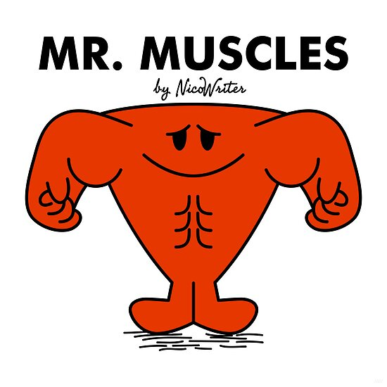 Mr Muscles by NicoWriter