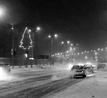 Russian Christmas Tree by Lex Aku