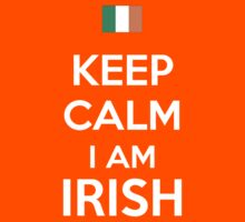 Keep Calm I'M IRISH Kids Clothes