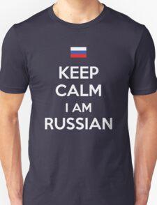 Keep Calm I'M Russian T-Shirt