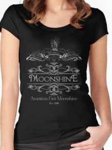 George Washington's Moonshine Women's Fitted Scoop T-Shirt