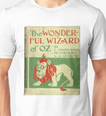 Vintage Wizard Of Oz Book Cover Unisex T-Shirt