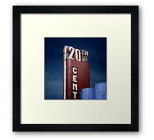20th Cent Framed Print