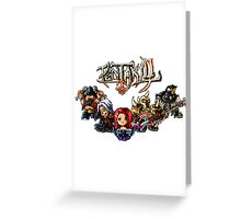 Pixel Pentakill Greeting Card