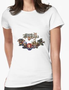 Pixel Pentakill Womens Fitted T-Shirt