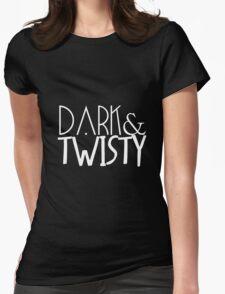 dark & twisty Womens Fitted T-Shirt