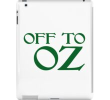 Off To Oz iPad Case/Skin