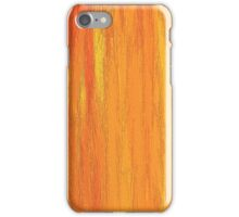 Orange and Yellow Painted Sunset iPhone Case/Skin