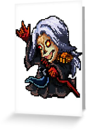 Pixel Pentakill Karthus by Pixel-League