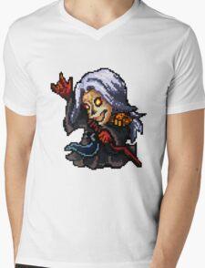 Pixel Pentakill Karthus Mens V-Neck T-Shirt