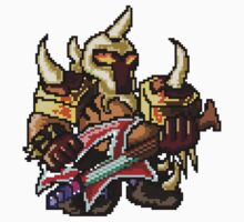 Pixel Pentakill Mordekaiser by Pixel-League