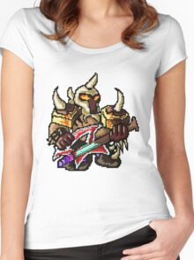 Pixel Pentakill Mordekaiser Women's Fitted Scoop T-Shirt