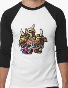 Pixel Pentakill Mordekaiser Men's Baseball ¾ T-Shirt