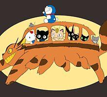 Cat Catbus by chokidoki