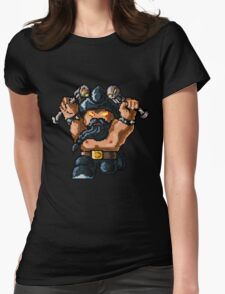 Pixel Pentakill Olaf Womens Fitted T-Shirt