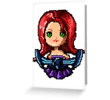 Pixel Pentakill Sona Greeting Card