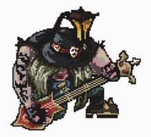 Pixel Pentakill Yorick by Pixel-League