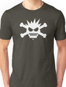 DEK Crossbones (white) Unisex T-Shirt