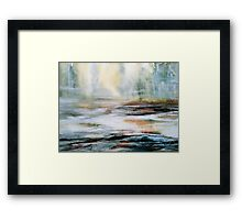 Nowhere To Alight... Framed Print