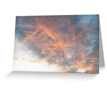 Dreamy sky Greeting Card