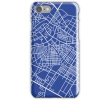 The blue city iPhone Case/Skin