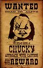 Wanted Chucky by NicoWriter
