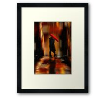Deluge Of Love Framed Print